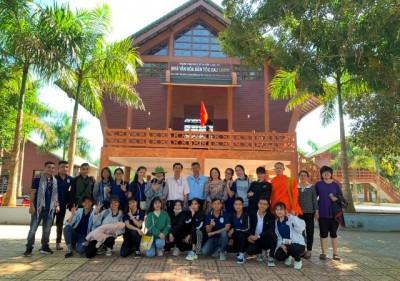 Sinh viên năm 4 thực tập giữa khóa tại tỉnh Bà Rịa- Vũng Tàu